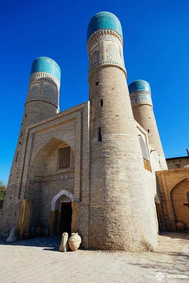 chor minor mosque - one of the many must-see attractions in Bukhara