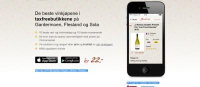 en app for gode vinkjøp