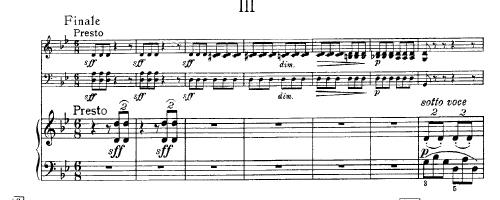 Smetana: Third Movement from Piano Trio, Op. 15