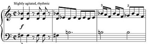 Prelude from Psycho (1960) music by Bernard Herrmann