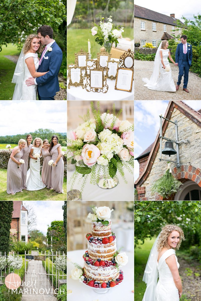 Real Wedding Mood Board Country Garden Party Anneli