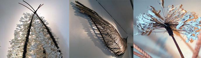 2009 Luopumisen ilo ja tuska, Galleria Naisten Huone, Helsinki, yksityisnäyttely
