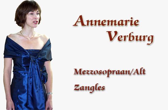 Annemarie Verburg - Mezzospopraan / Alt / pedagoog/ Zangles Maassluis