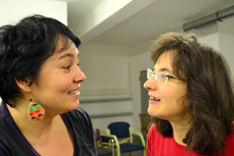 Wenn aus dem getanzten Dialog eine Plauderei wird - Szilvia und Angela