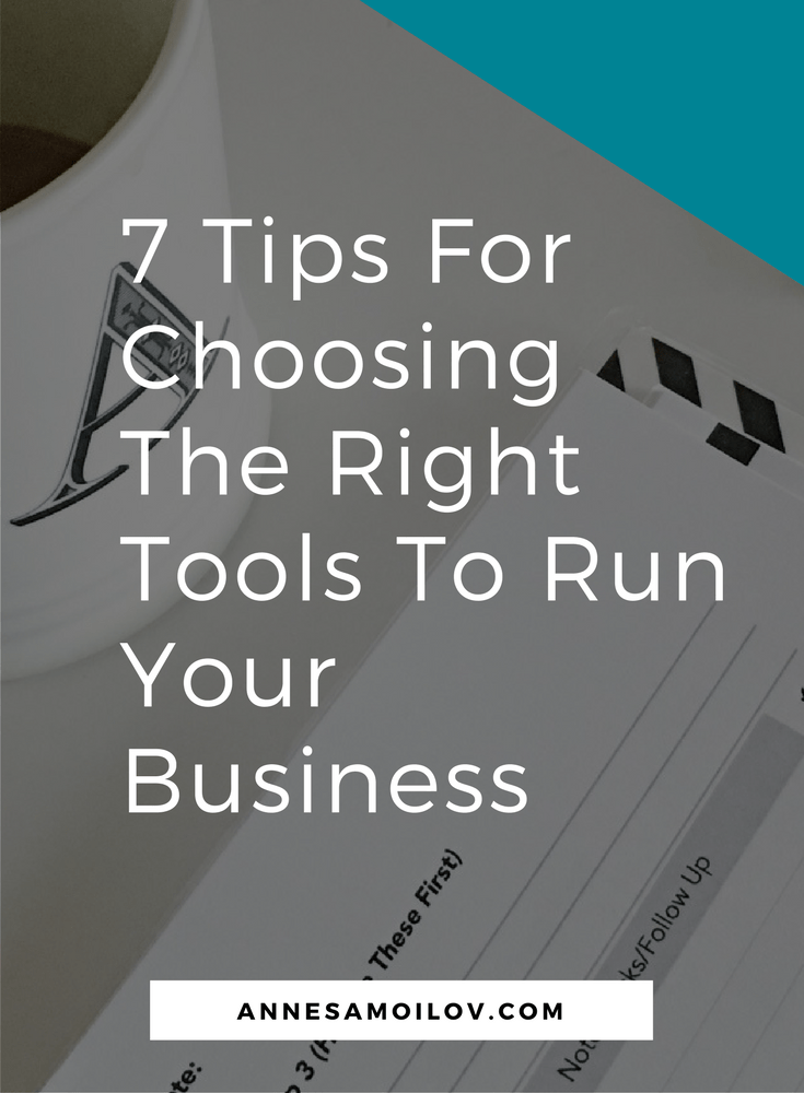 Tools To Run Your Business