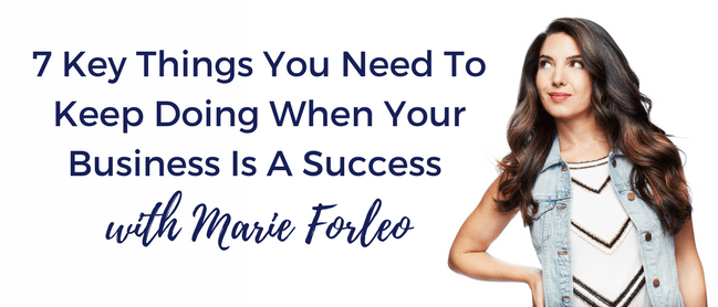 things you need to do even when your business is a success