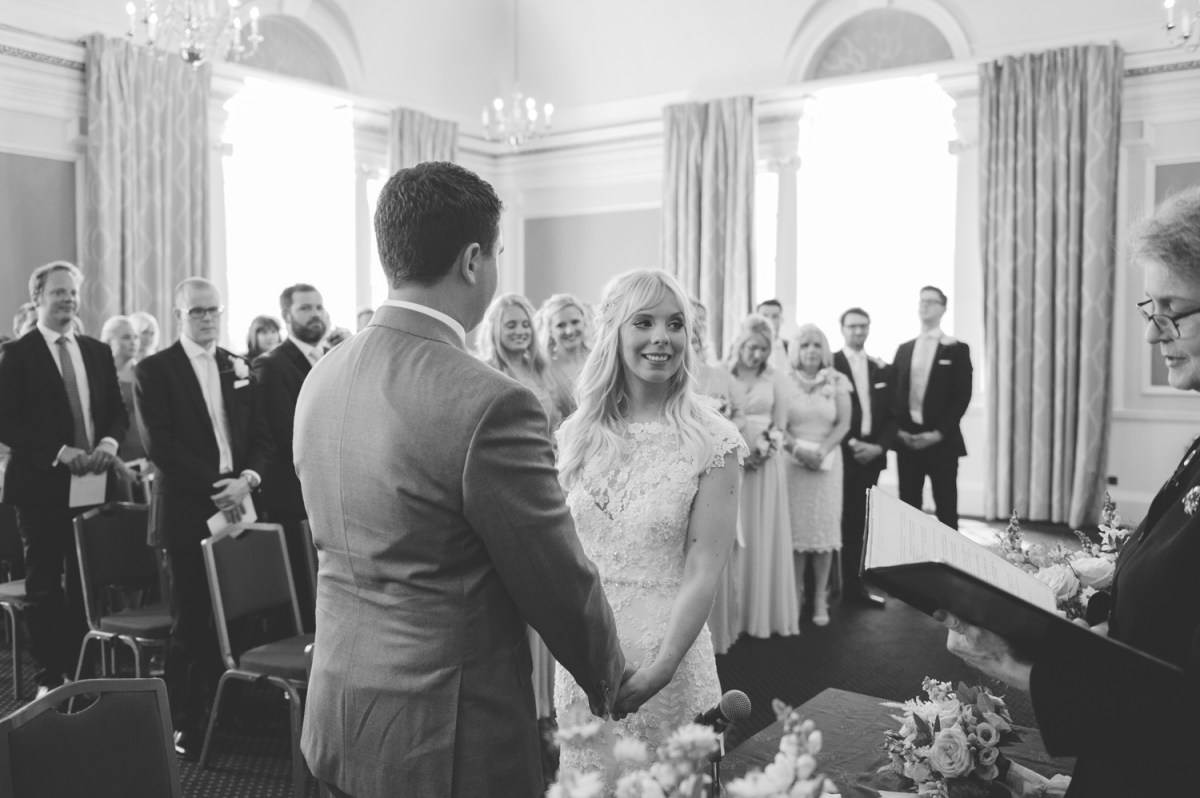 chelsea town hall wedding first look bride