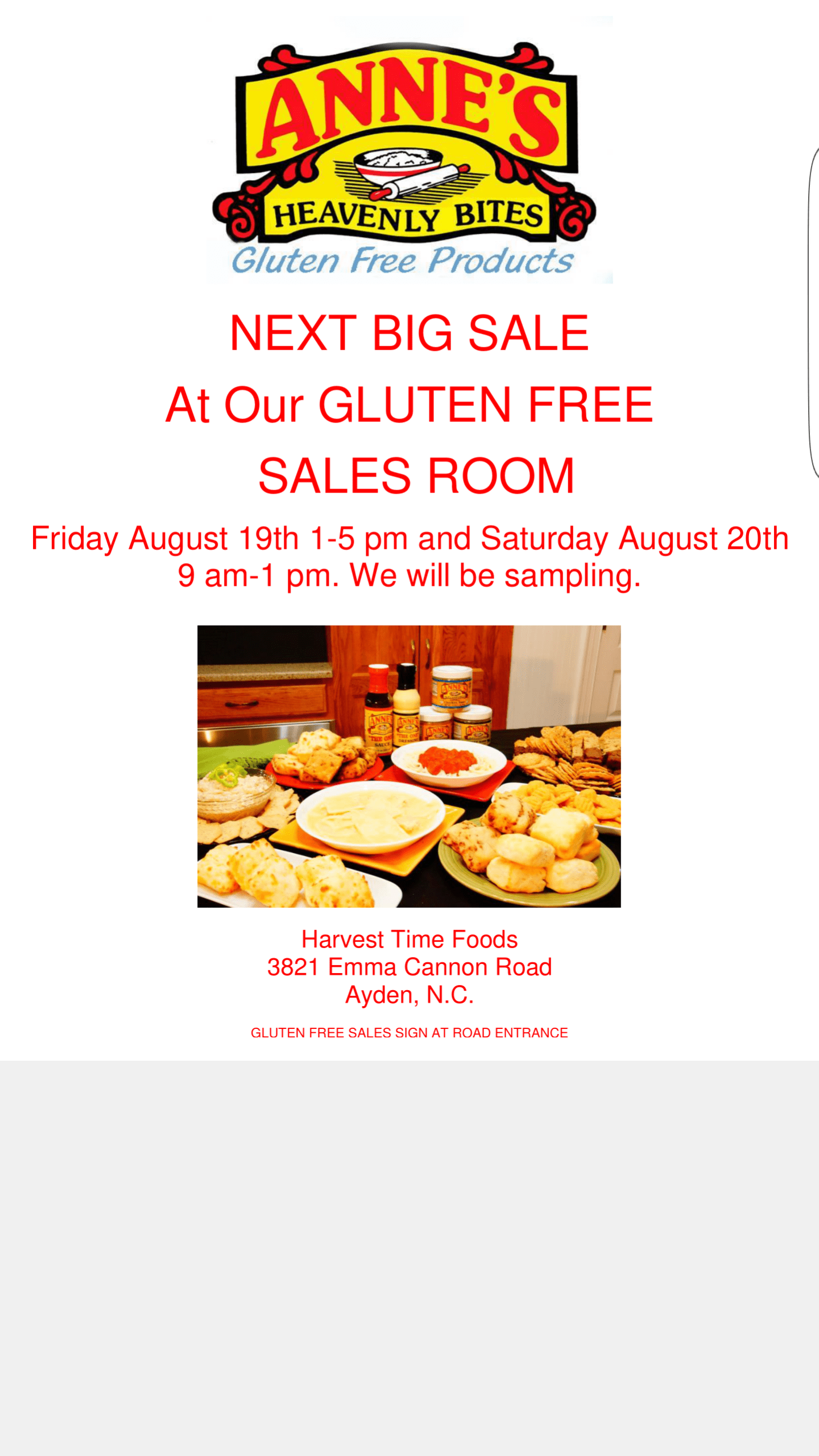 sle of gluten free diet gluten free sales event s fashioned food products
