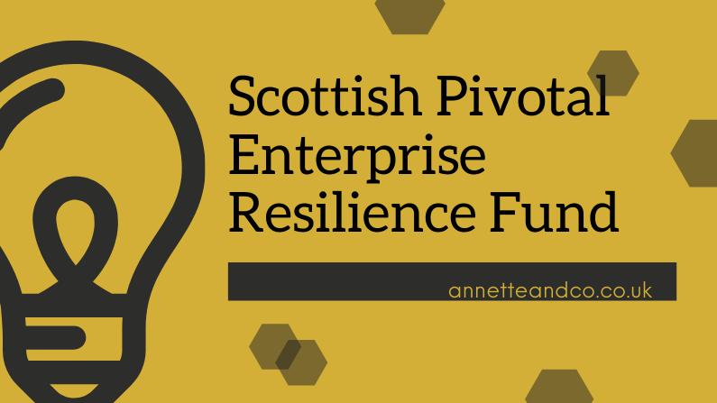 Scottish Pivotal Enterprise Resilience Fund