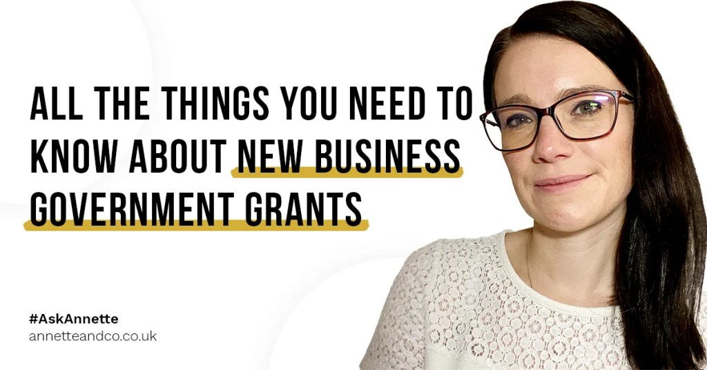 a blog featured image entitled All the Things You Need to Know About New Business Government Grants