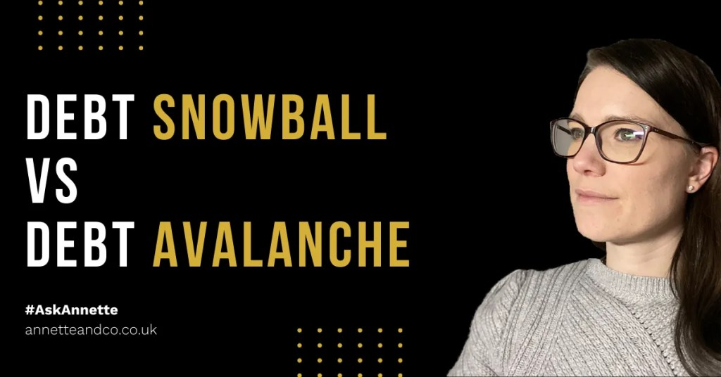 a blog featured image that focus on the topic Debt Snowball VS Debt Avalanche