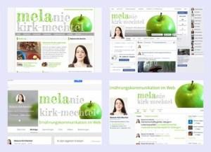 Titelbilder der Präsenzen von Melanie Kirk-Mechtel