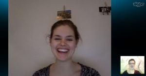 Skype mit Anette Askvik