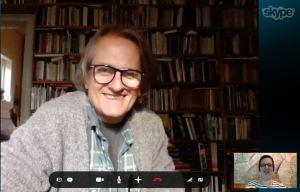 Skype mit Pal H. Christiansen