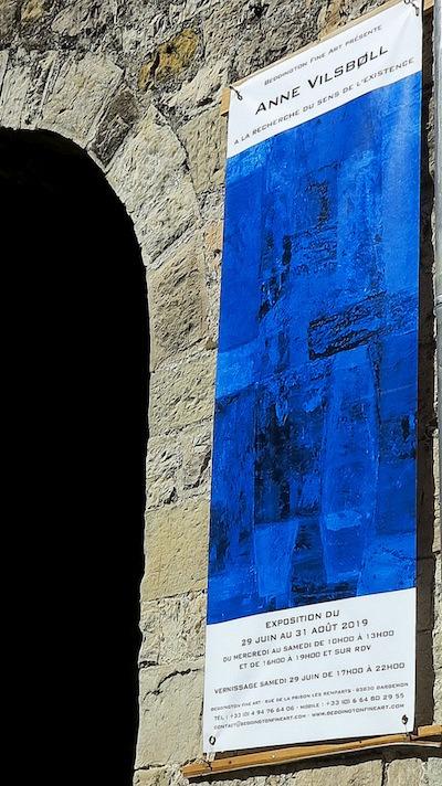 Solo exhibition Galerie Beddington Fine Art – poster