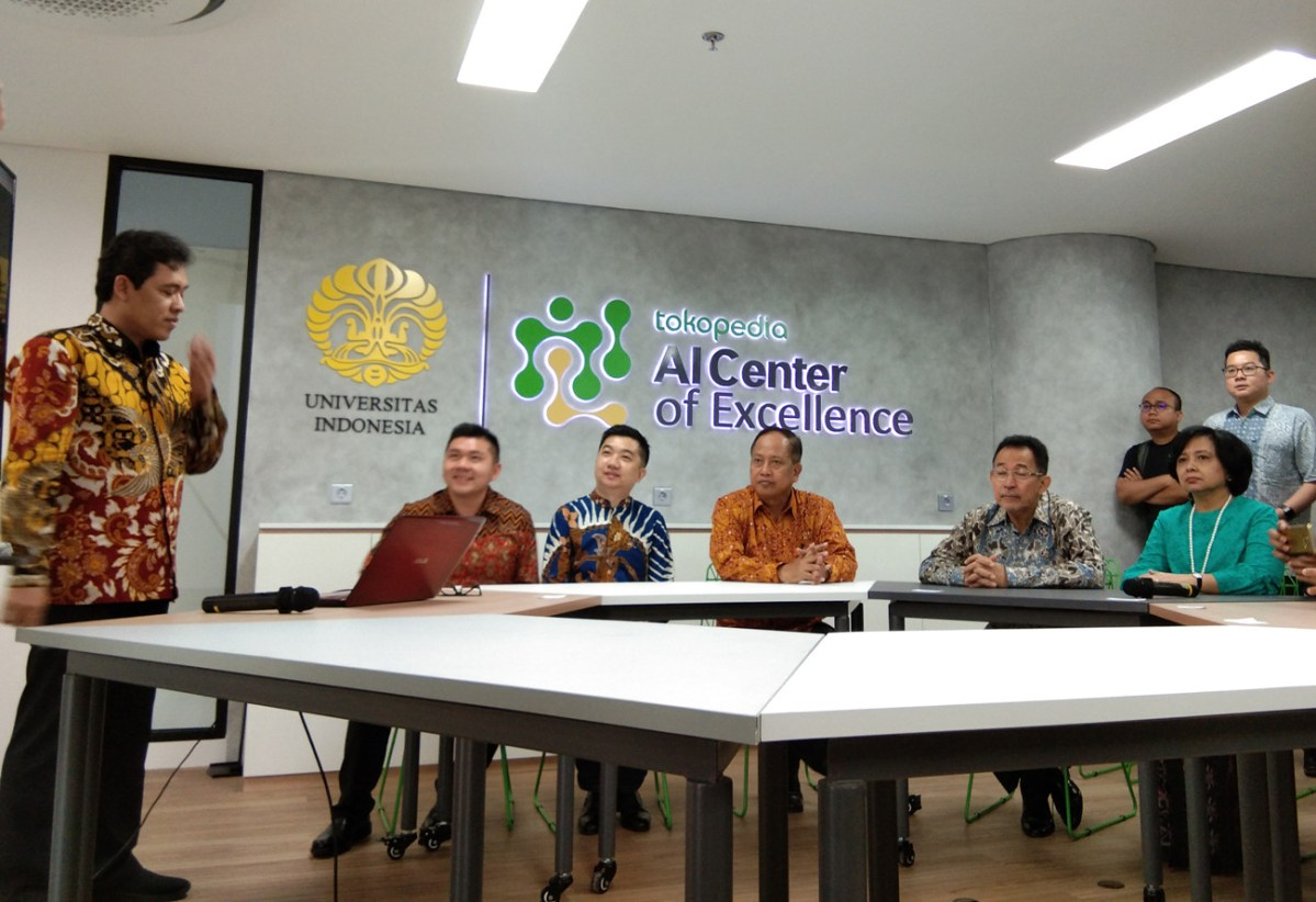 Tokopedia, University of Indonesia launch AI research center