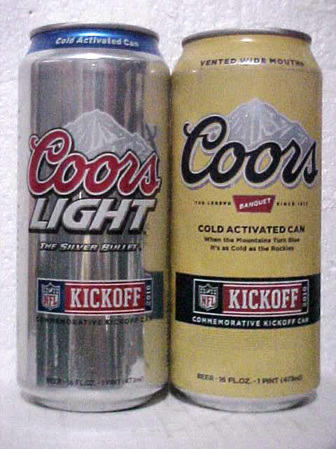 Coors Light & Coors Original