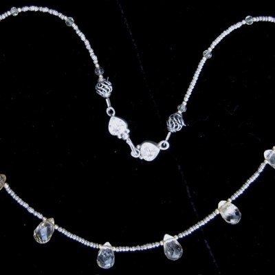 citrine-briolettes-sterling-silver-beads-necklace
