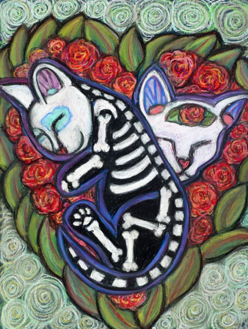 All Souls Day Kittenz - Leelah & Bella