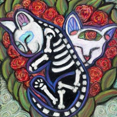 All Souls Day Kittenz - Leelah & Bella