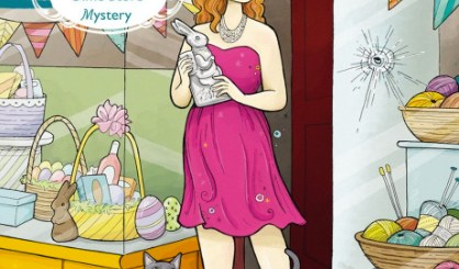 Nickeled and Dimed to Death mystery cover illustrated by Anni Betts