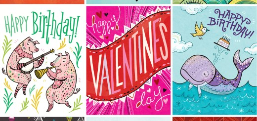 illustrated greeting cards by Anni Betts