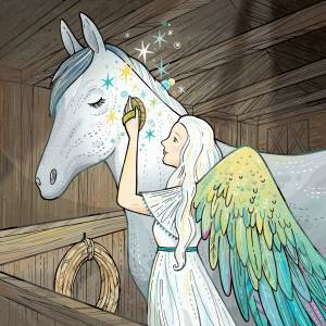 Stables Angel for Angels on Earth magazine