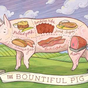 The Bountiful Pig: concept art for Fair Oaks Farm