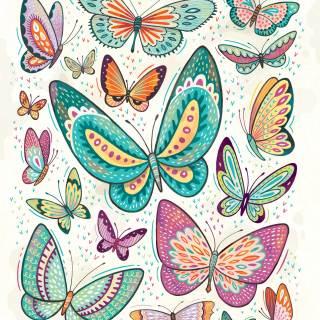 Butterflies: print for sale