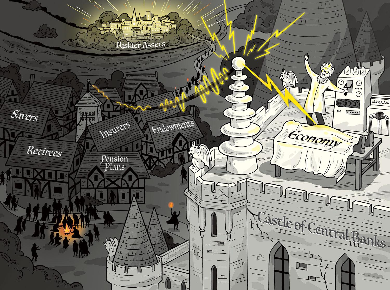 Doctor Bankenstein illustration for JP Moran