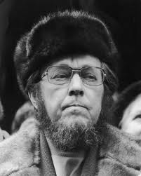 (Russian writer, dissident and activist. He helped to raise global awareness of the gulag and the Soviet Union's forced labour camp system 1918-2008)