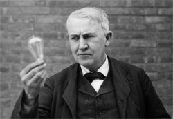 Adventure quote by Thomas Edison-American inventor, scientist and businessman