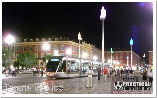 Take public transportation to visit surrounding areas around Nice France