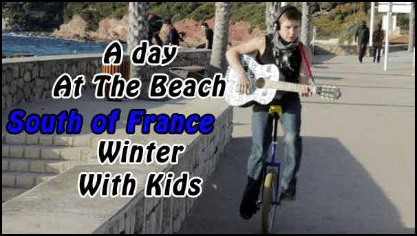 A day at the beach in the south of france: Le Pradet