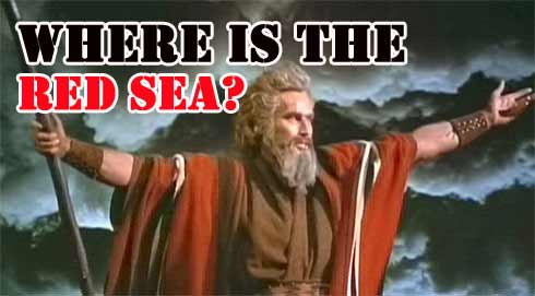Visit The Red Sea: El Sheikh In Egype: The parting of the red sea in the 10 Commandments