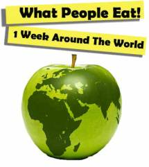 Hungry Planet: what people eat around the world in 1 week.