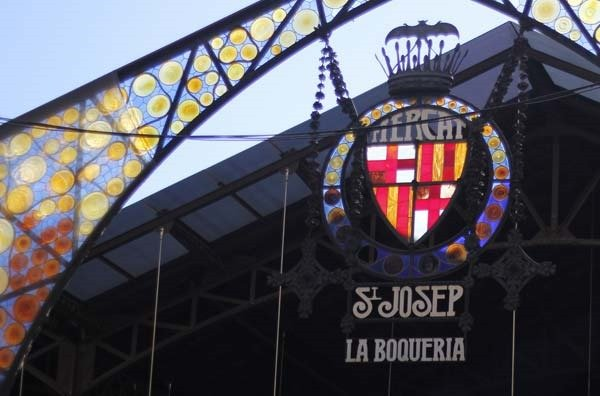 You have to visit the outdoor market St Josep La Boqueria in Barcelona