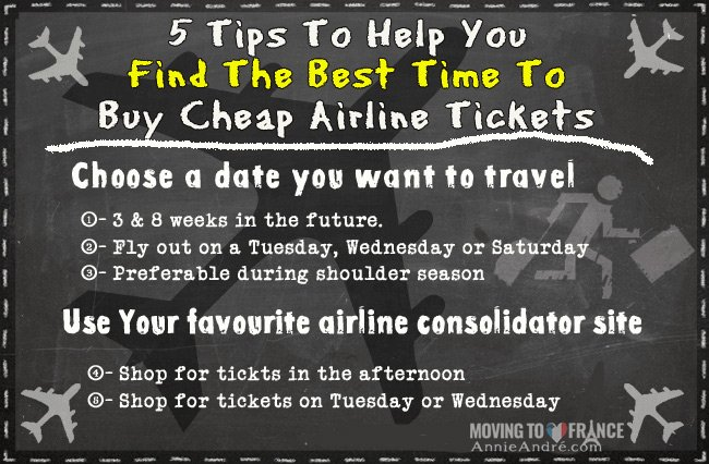 5 simple rule to help you find the cheapest airline tickets