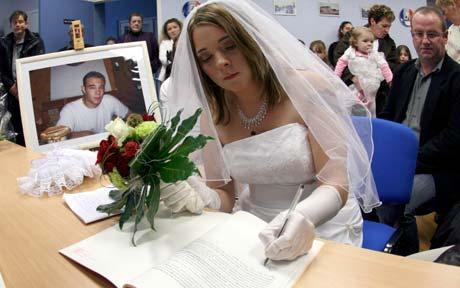 A weirdly funny French Laws in France: You CAN marry a dead person