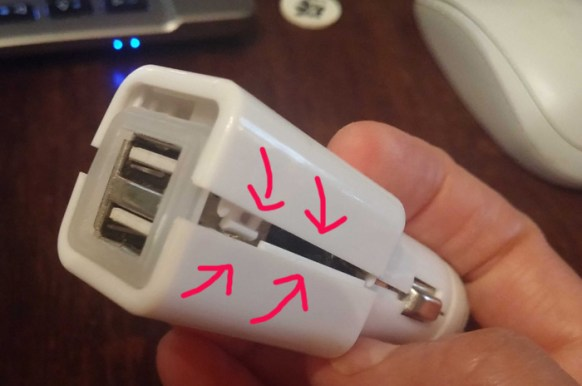 Broken car charger- a common problem