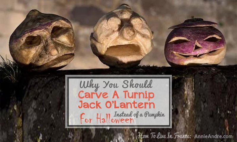 Why you should carve turnip jack o lanterns instead of pumpkins for halloween