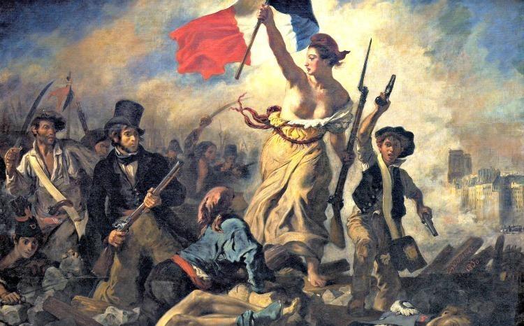 Liberty-Leading-The-People Eugène Delacroix