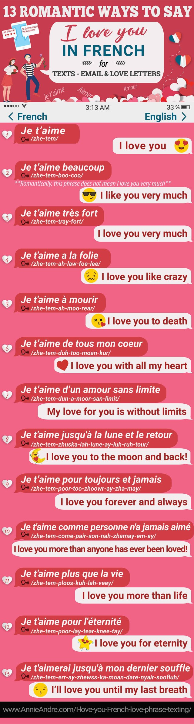 17 Uber Romantic French Phrases To Say I Love you In French