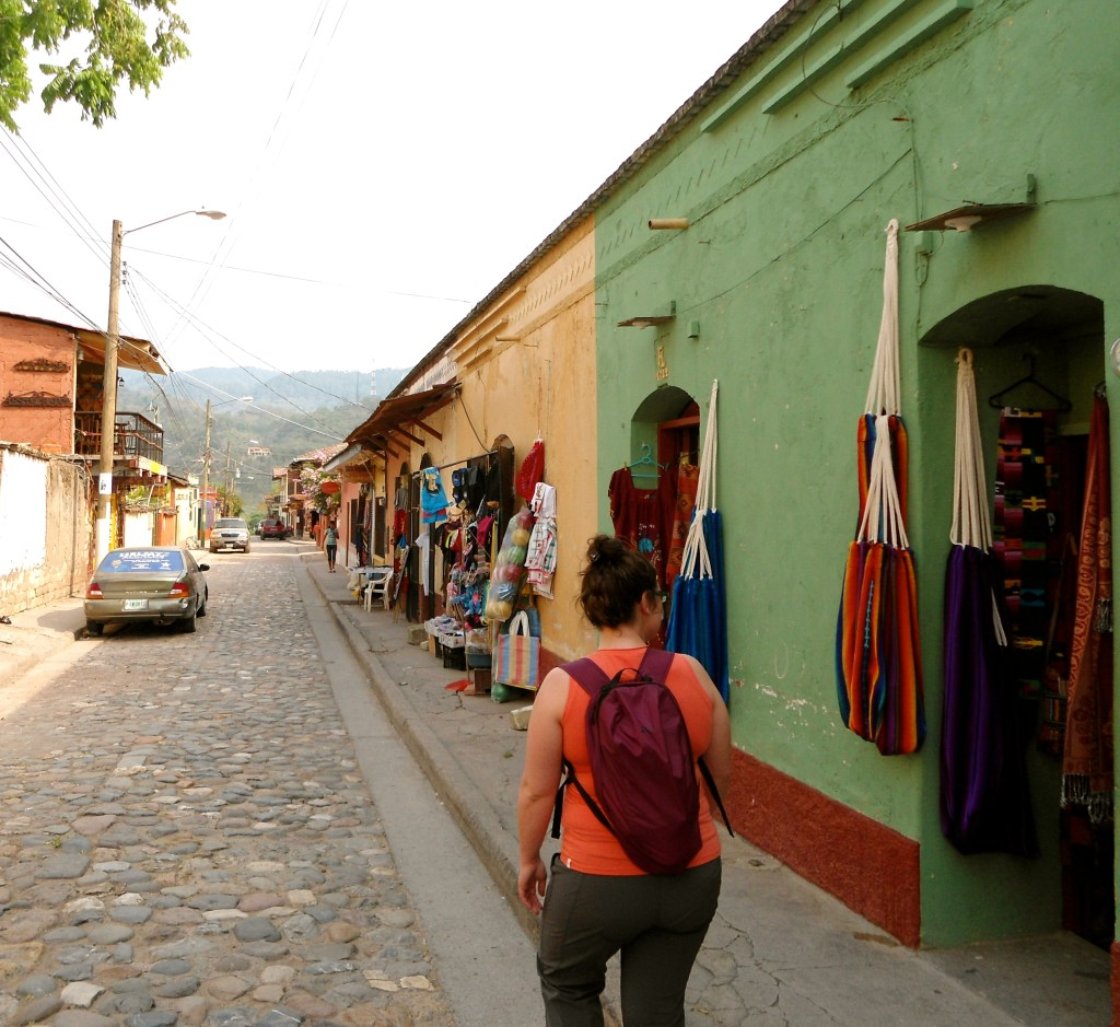 Copan village in Honduras. The place to stay to explore Copan Ruinas.