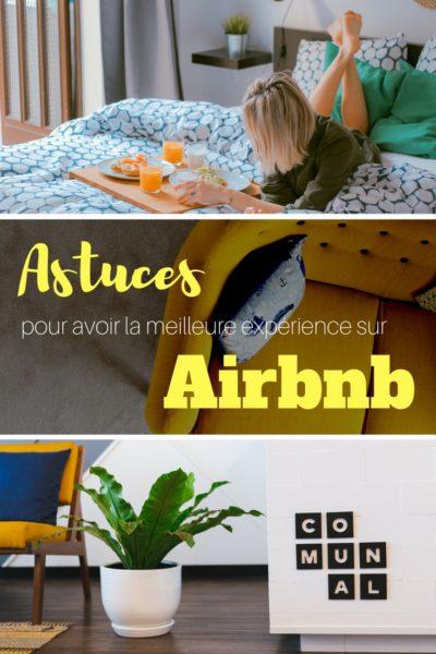 Astuces pour avoir la meilleure expérience sur Airbnb lors d'une réservation de chambres ou d'appartement. Bonus: 25$ de crédit sur votre première réservation! #airbnb #hebergement #voyage #backpacking