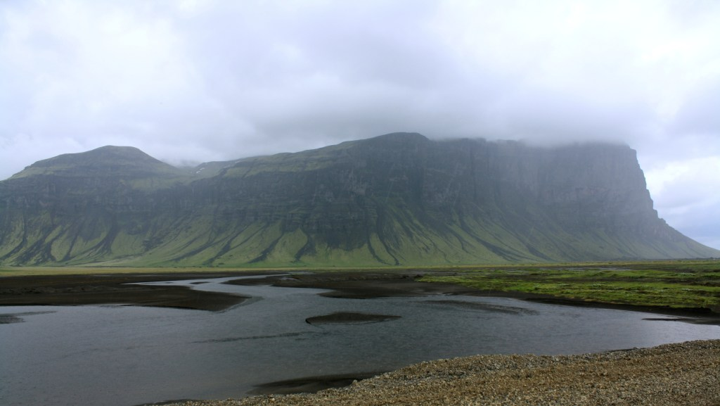 Volcanic view in Iceland