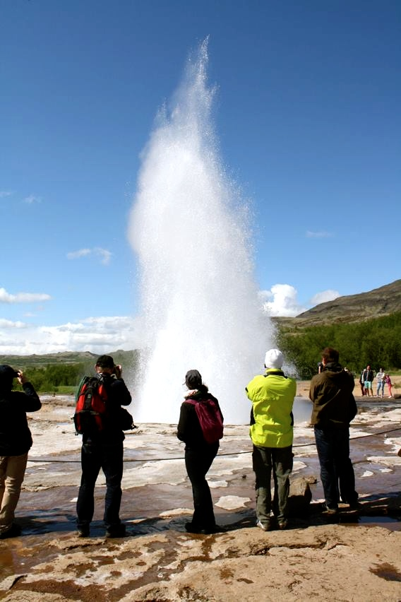 Itinéraire en Islande - Geysir