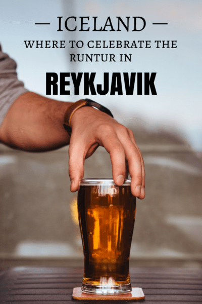 What are the best bars to celebrate the runtur in Reykjavik? What are the bar rules? I tell you everything #Reykjavik #Iceland #Beers #Bars #Nightlife