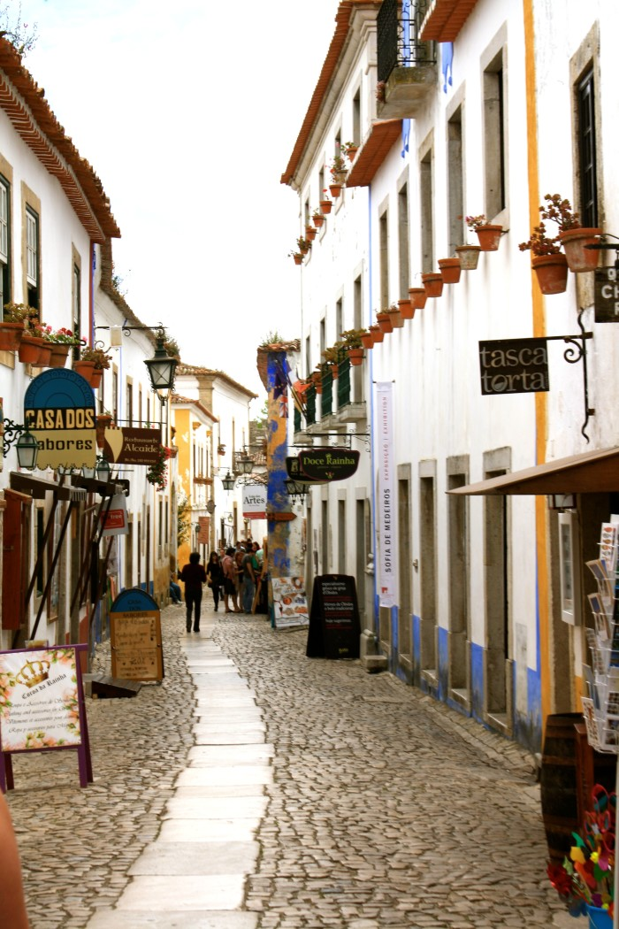 Obidos Main Street