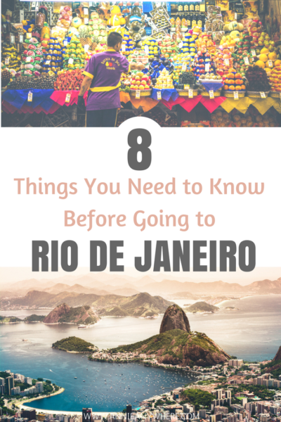 8 Travel tips and advice you need to know before travelling to Rio de Janeiro for your fun and safety. #RiodeJaneiro #Brazil #SouthAmerica #travel #Backpacking #Backpackers